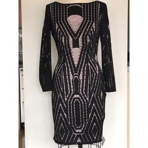 Reiss Lace Bodycon Dress